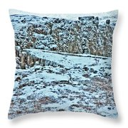 Iceland Country Side Clouds Mountains Stream Iceland Rocks Lake Clouds Iceland 2 2112018 0976 Throw Pillow