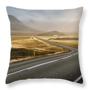 Iceland Ring Road 1 Throw Pillow