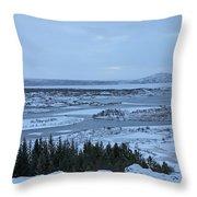 Iceland Trees Mountains Rivers Lakes Iceland 2 2112018 0942 Throw Pillow