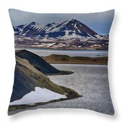 Icelandic Beauty Throw Pillow