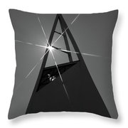 Icelandic Church Throw Pillow