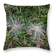 Icelandic Flora Throw Pillow
