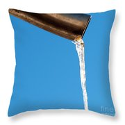 Icicle 2 Throw Pillow