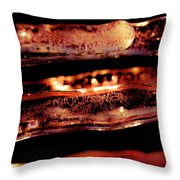 Icicles II Throw Pillow