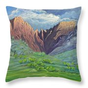 Icidi Valley Throw Pillow