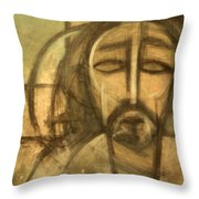 Icon Number 6 Throw Pillow