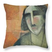 Icon Number Five Throw Pillow