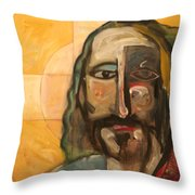 Icon Number Four Throw Pillow
