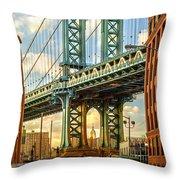 Iconic Manhattan Throw Pillow