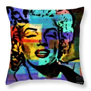 Iconic Marilyn Throw Pillow