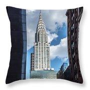 Iconic New York  Throw Pillow
