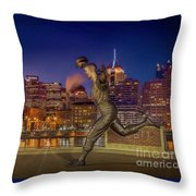 Iconic Pittsburgh Throw Pillow