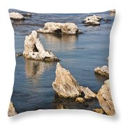 Iconic Shell Beach Throw Pillow