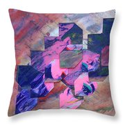 Iconoclasm 3 Throw Pillow