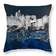 Icy Haven Throw Pillow