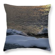 Icy Islands - Throw Pillow