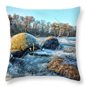 Icy Waters 2 Throw Pillow