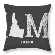 Id Home Throw Pillow by Nancy Ingersoll