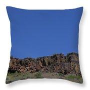 Idaho Landscape Throw Pillow