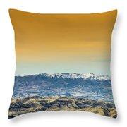 Idaho Landscape No. 2 Throw Pillow