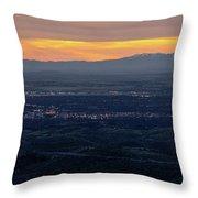 Idaho Landscape No. 3 Throw Pillow