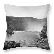 Idaho: Snake River Canyon Throw Pillow