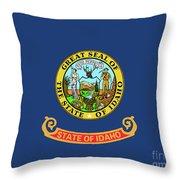 Idaho State Flag Throw Pillow