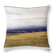 Idaho Valley Throw Pillow
