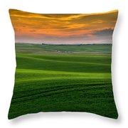 Idaho's Heartland Throw Pillow