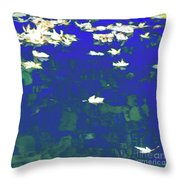 Dreamy Impressionism Throw Pillow