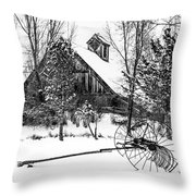 Idle Time - Waiting For Spring Throw Pillow