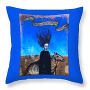 Idontcareanymore Throw Pillow