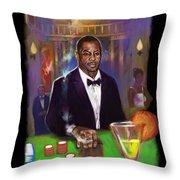 Idris Elba As James Bond 007 #2 Throw Pillow