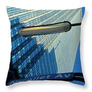 Ids At Nicollet Avenue Throw Pillow