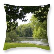 Idyllic Afternoon Throw Pillow
