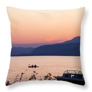 Idyllic Evening Throw Pillow