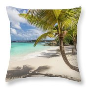 Idyllic Salomon Beach Throw Pillow