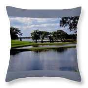 Charleston South Carolina Throw Pillow