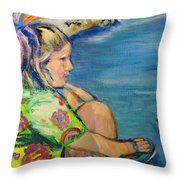 If Fishes Were Wishes Throw Pillow