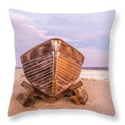 If I Had A Boat Throw Pillow