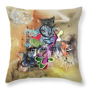 If It's Not Oil, I'ts Not Art Throw Pillow