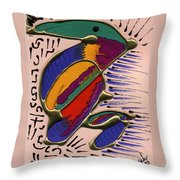 If Only I Could Fly Throw Pillow
