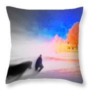 If Our Home Is Our Golden Castle  Throw Pillow