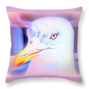 If The Bird Is A Predator Put It In Jail  Throw Pillow