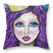 If The Crown Fits Throw Pillow