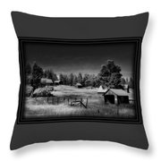 If The Past Could Talk Throw Pillow