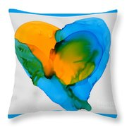 If The World Would Have Heart Throw Pillow