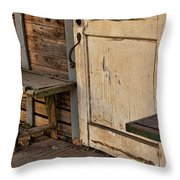 If This Porch Could Talk Throw Pillow