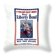 If You Can't Enlist Invest Throw Pillow