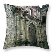 Iglesia De La Compania De Jesus 2 Throw Pillow